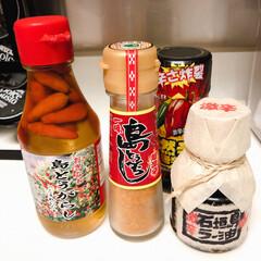 石垣島/おすすめ調味料/食事情 辛いもの大好き。先日石垣島で調達した激辛…