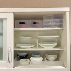 Pコレールウインターフロスト 大皿 CP‐8910 | コレール(皿)を使ったクチコミ「シンプルで日常使いにぴったりなコレールの…」(1枚目)