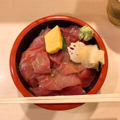海鮮/まぐろ/漬けまぐろ丼/魚/わたしのごはん 贅沢!漬けまぐろ丼