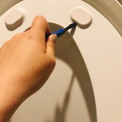 生活の知恵/トイレ掃除/掃除/こそうじ/大掃除/トイレ トイレの便座裏のゴム?って臭い気になりま…