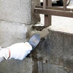DIY/簡単DIY/住まい/リフォーム/住宅設備/一戸建て/... ブロック、レンガ、タイル目地、屋根瓦の漆…