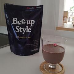 Bee up Style Chocolate風味 | Bee up Style(ソイプロテイン)を使ったクチコミ「新ボディーメイクプロテイン 『ビーアップ…」(5枚目)