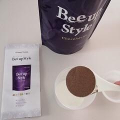 Bee up Style Chocolate風味 | Bee up Style(ソイプロテイン)を使ったクチコミ「新ボディーメイクプロテイン 『ビーアップ…」(3枚目)
