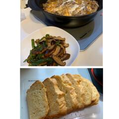 夕飯の準備/手づくりパン/ブリオッシュ 買い物行かず…😅  今日は暑くて何処にも…