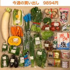 夕飯/1週間1万円/買い物/生活の知恵/おうちごはん/節約/... 《今週の買い出し》  先週見つけたメガ…