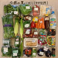 冷凍保存/1週間1万円/おうちごはん/わたしのごはん/夕飯/買い物/... 《7/9の買い出し》  先週の買い出しは…(1枚目)