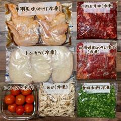 冷凍保存/1週間1万円/買い物/夕飯/おうちごはん/節約/... 《8/20〜26の買い出し&夕飯》 午前…(3枚目)