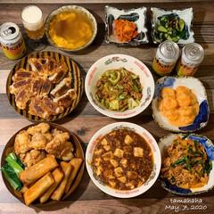中華料理/夜ごはん/おうち時間/わたしのごはん/おうち居酒屋/夕飯/...  《5/7の夕飯》 🇨🇳おうちで中華料…(1枚目)