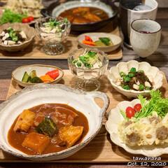 おうちごはん/メニュー/夕飯/レシピ 《10/10の夕飯》 ✴︎ささみのおかき…(3枚目)