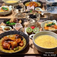 酢豚/中華風コーンスープ/夕飯/おうちごはん/わたしのごはん/フォロー大歓迎 《昨日の夕飯》 ✴︎酢豚 ✴︎中華風コー…