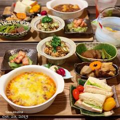 おうちごはん/わたしごはん/夕飯 《昨日の夕飯》 ✴︎麻婆豆腐グラタン ✴…