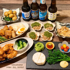 ドラフトビール/ベビースターラーメン/おうちごはん/わたしのごはん/夕飯/夜ごはん  《3/21の夕飯》 ✴︎ささみのベビー…
