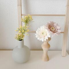楽天市場/フラワーベース/フラワー/花瓶/和室/リビング/... お気に入りのくすみカラーのフラワーベース…(1枚目)