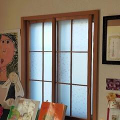 DIY/プラダン/内窓 和室の小窓に内窓作成しました!  窓代わ…