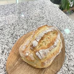 おうち時間/おうちごはん/パン作り/パン/時短レシピ ドデカミルクハースという名前のパン🥖 前…