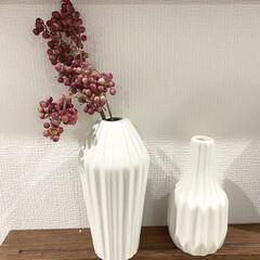 インテリア雑貨/花瓶/フラワーベース/ダイソー/100均 ダイソーの花瓶❤︎ これが一つ100円だ…