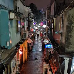 新宿ゴールデン街/レイニーブルー/rainyblue/刹那の街/欲望の街/ハット紳士/... 雨の新宿ゴールデン街。 「88Pルルド」…