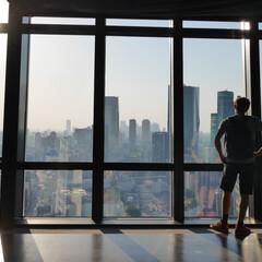 東京タワー/東京/都会/旅行者/夕焼け/夕暮れ/... 大好きな場所でもある東京タワーで撮影しま…