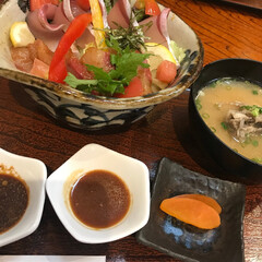わたしのごはん/lunch/串間/ぶりぷり丼 lunch
