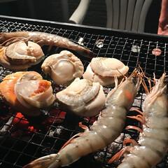 わたしのごはん/BBQ/家族/海鮮/ディナー BBQ