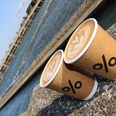 京都/アラビカコーヒー/嵐山/渡月橋/おでかけワンショット 京都おでかけ