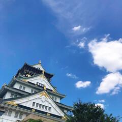 夏のお気に入り/夏休み/散歩/大阪城 夏休み最後のお散歩 大阪城