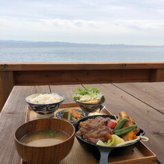 海/ランチ/淡路島/わたしのごはん 海を見ながらの特別ランチ