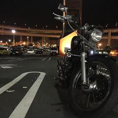 バイク/大黒ふ頭/おでかけ/わたしのお気に入り お気に入りのバイク^ ^