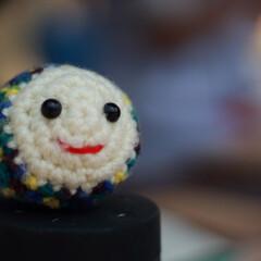笑顔/編みぐるみ/チャリティー/はじめてフォト投稿 おたまじくしの編みぐるみです。 神戸市の…