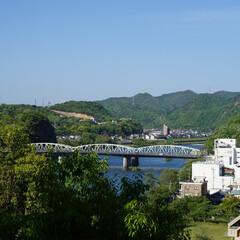 犬山城/城/展望/おでかけワンショット 犬山城からの展望