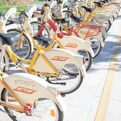 自転車/旅行/ミラノ/おでかけワンショット たまには自転車でお出かけしよう!!
