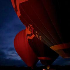 気球/夜明け/ノスタルジー/はじめてフォト投稿 夜明け前