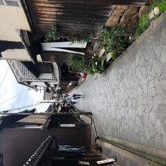 おでかけワンショット 鞆の浦の路地