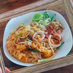 タイ料理/タイ/東南アジア/料理/タイ旅行/旅/... わたしのお気に入りのタイ料理 パッタイ!