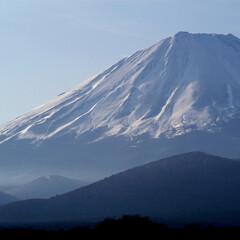 山/富士山/精進湖 子抱き富士です。  撮影地:精進湖
