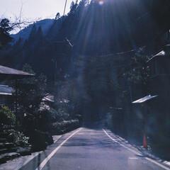一人旅/隙間時間/おでかけワンショット 「道の先には」