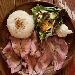 iPhoneで撮影/ローストビーフプレート/下北沢 最近食べた下北沢のローストビーフプレート…