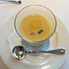 わたしのごはん/ランチ/フレンチ/スープ/トウモロコシ お気に入りのフレンチレストランでランチ♪…