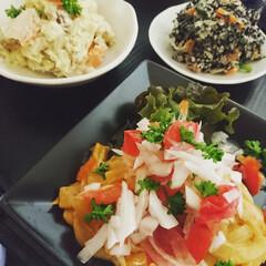 晩御飯/おうちごはん/夕食/家族/料理研究家/幸せ/... 白身魚のフリッター✨私特性ソースで~✨ …