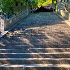 令和初旅行/階段/尾道/広島/おでかけワンショット 尾道旅行に行った時の写真です。君の名は。…(1枚目)