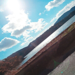 松島/家族/お出かけ/ドライブ/はじめてフォト投稿 車窓から見たキラキラした景色。家族とのお…