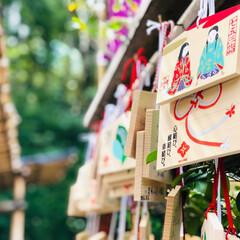 東京大神宮/東京/神社/パワースポット/絵馬/令和元年フォト投稿キャンペーン/... 東京大神宮で絵馬を撮りました。 多くの参…(1枚目)