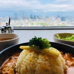 ランチ/恵比寿/恵比寿ガーデンプレイス/kintan/絶景/東京タワー/... 恵比寿ガーデンプレイスで絶景をみながらラ…