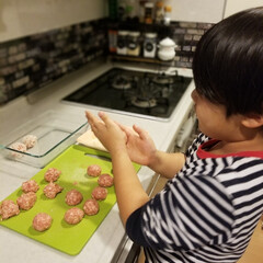 食事情 子供でも簡単に作れる焼売♡