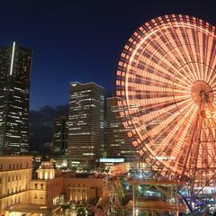 横浜/みなとみらい/横浜ランドマークタワー/コスモクロック/夜景/わたしのお気に入り 「お気に入り夜景」…首都圏の夜景スポット…