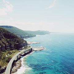 シドニー/ドローン/海岸線/わたしのお気に入り シドニーの海岸線をドローンで撮影しました…