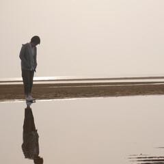 秩父が浜/浜辺/海/おでかけワンショット 日本のウユニ塩湖