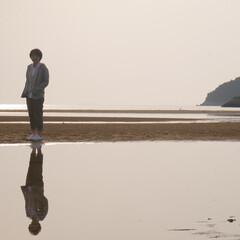 秩父が浜/砂浜/海/はじめてフォト投稿 日本のウユニ塩湖