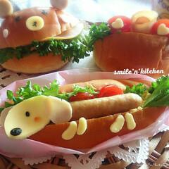 パン/わたしのごはん/ごはんクラブ/LMIAごはんクラブ/グルメ/おうちごはん/... ホットドック&ロールパン 我が家はパン派…