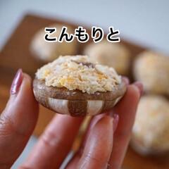 おうちごはん/節約 4/26(日)  めんマヨパン粉詰め椎茸…(5枚目)